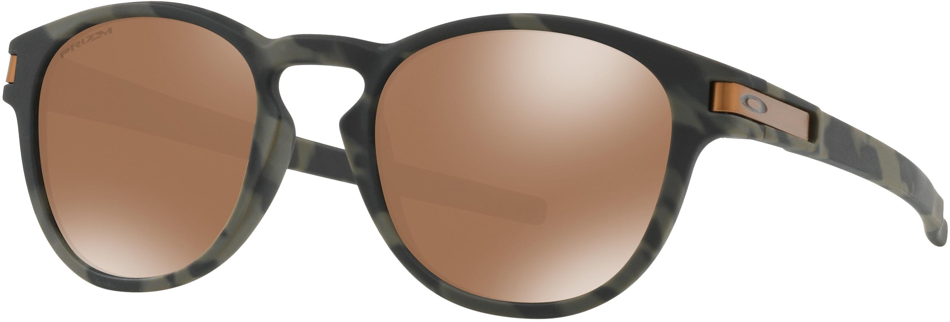 Oakley Sonnenbrille Latch Olive Camo/Prizm Tungsten vGoMW7H