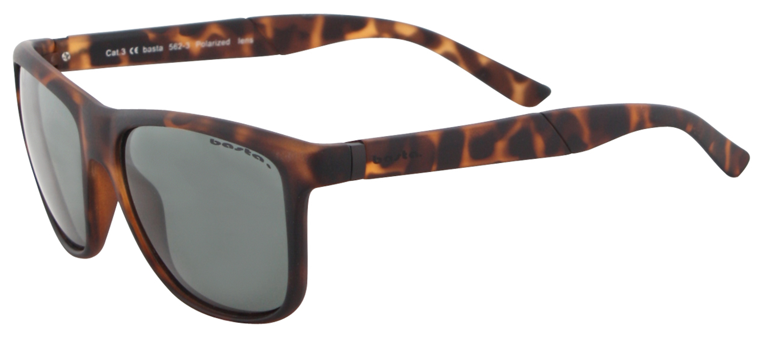 BASTA BASIC POLARIZED Sonnenbrille brown/brown dicAMV
