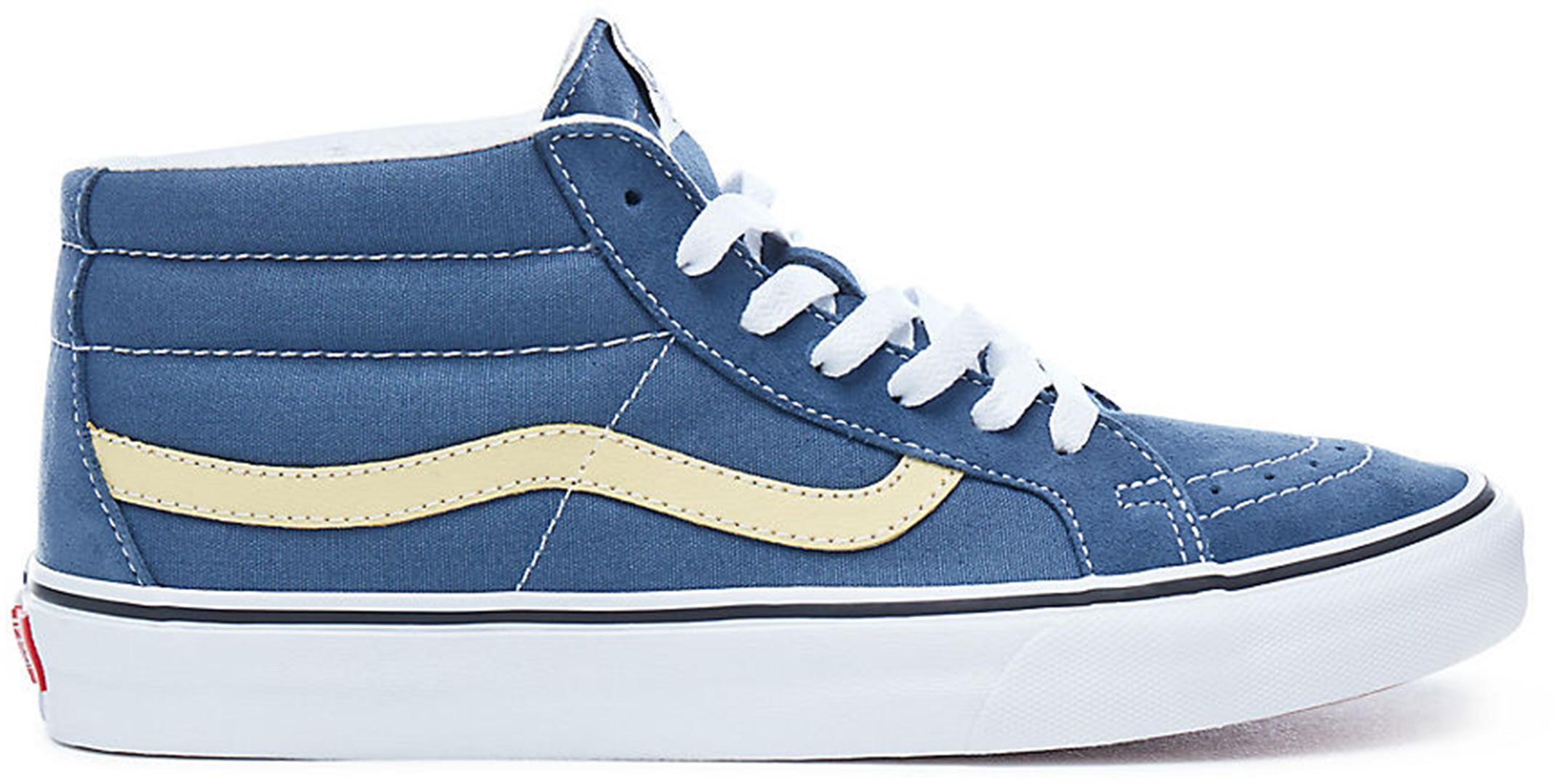 Vans 2018 SK8-MID REISSUE Schuh 2018 Vans vintage indigo/pinapple slice zapatos 2580ab