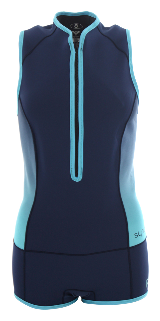 Syncro 1mm front zip shorty 2017 blue print warehouse one roxy syncro 1mm front zip shorty 2017 blue print malvernweather Gallery