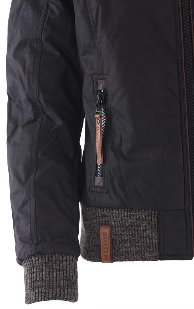 Muschi Will Nich III Jacket black Naketano L1zqMjD2Yg