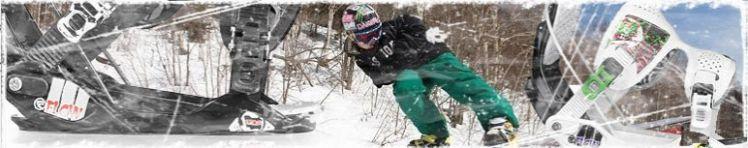 Snowboard Bindungen