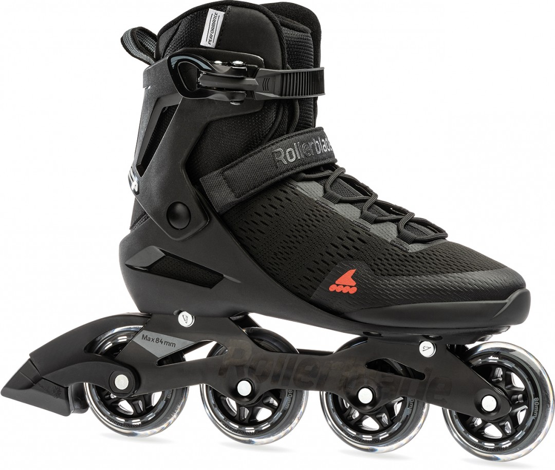 Rollerblade Spark 80 Inline Skate Black//Orange