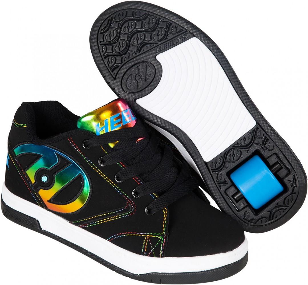 Heelys PROPEL 2.0 Shoe blackrainbow foil | Warehouse One
