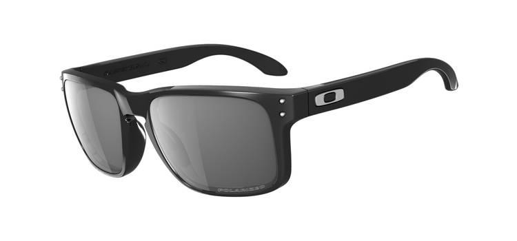 OAKLEY HOLBROOK Sunglasses polished blackgrey polarized