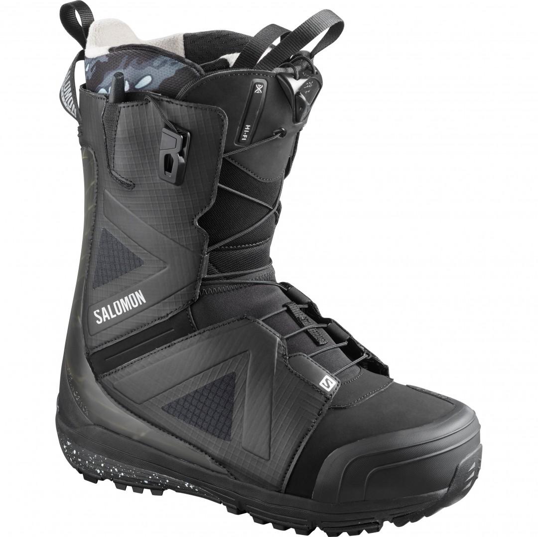 Salomon HI FI Boot 2020 blackblackcastlerock | Warehouse One pA55r