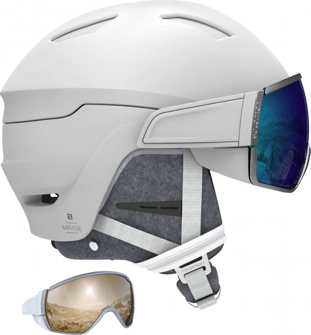 SALOMON MIRAGE+ Helm 2020 whiteblue solar