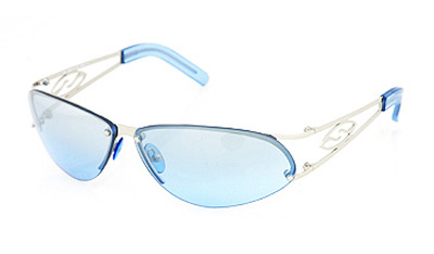 CAPTAIN Sonnenbrille chrome/blue gradient mirror