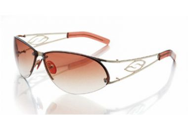 CAPTAIN Sonnenbrille shiny gold/burgundy gradient