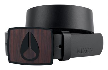 ENAMEL ICON Belt 2012 dark wood/black
