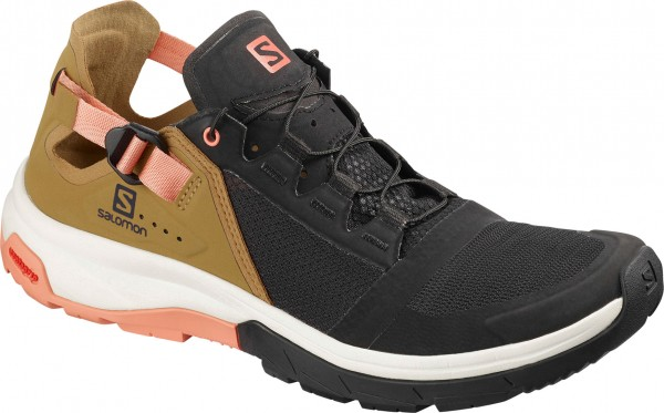 TECHAMPHIBIAN 4 W Schuh 2019 black/bistre/tawny orange
