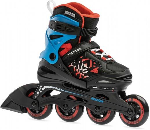 THUNDER Inline Skate 2021 black/red
