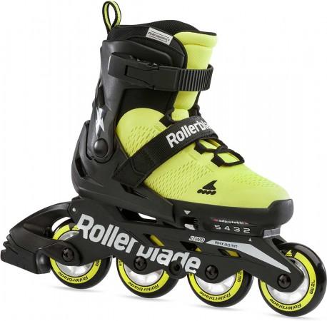 MICROBLADE SE Inline Skate 2021 neon yellow/black