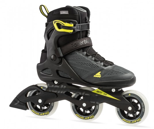 MACROBLADE 100 3WD Inline Skate 2019 anthracite/yellow