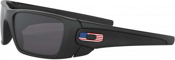 SI FUEL CELL Sonnenbrille matte black us flag icon/grey
