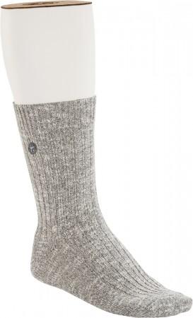 COTTON SLUB Socken 2021 grey/white