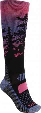 WOMEN PERFORMANCE MIDWEIGHT Socken 2022 sunrise