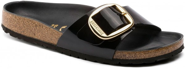 MADRID BIG BUCKLE SLIM Sandale 2020 black patent