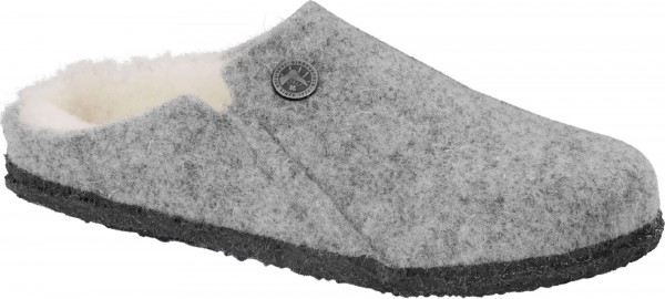 ZERMATT SHEARLING KIDS SLIM Slipper 2020 light grey