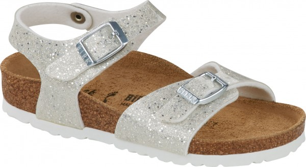 RIO PLAIN KIDS SLIM Sandale 2021 cosmic sparkle white