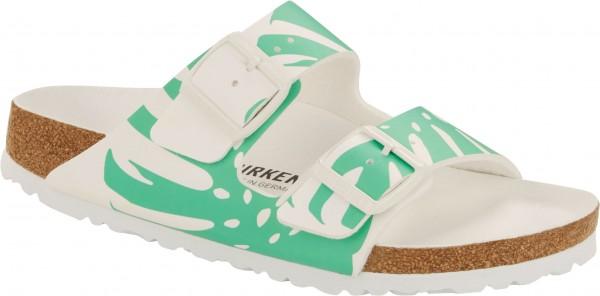 ARIZONA SLIM Sandale 2021 monstera white/bold jade