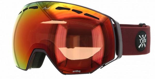 PROSPECT HD Schneebrille 2021 bordeaux