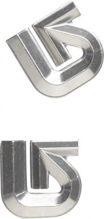 ALUMINIUM LOGO MAT 2020 silver