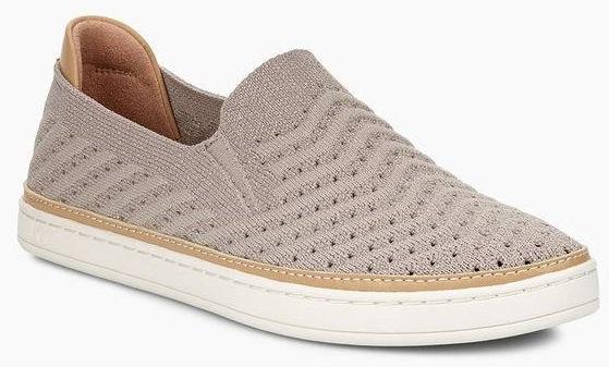 SAMMY CHEVRON METALLIC Sneaker 2019 oyster