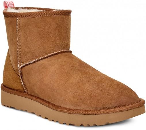 CLASSIC MINI II GRAPHIC LOGO Boots 2020 chestnut/neon coral