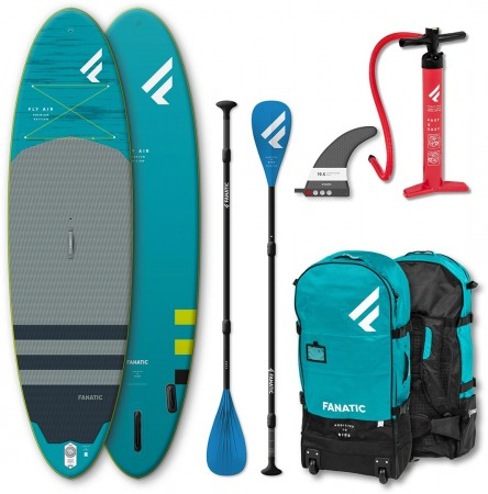FLY AIR PREMIUM 10,4 SUP 2021 inkl. PURE ADJUSTABLE 3-Piece Paddel