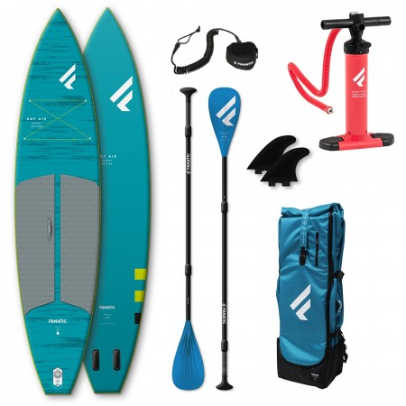 RAY AIR POCKET 11,6 SUP 2021 inkl. PURE ADJUSTABLE 3-Piece Paddel