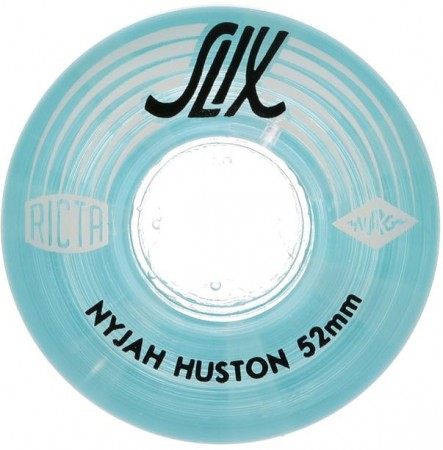NYJAH HOUSTON CRYSTAL SLIX 52mm 4 Pack Wheels clear