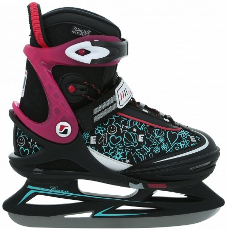 LUNA GIRL Ice Skate 2019 black/berry