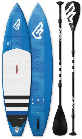 RAY AIR SUP 2019 inkl. PURE CARBON 3-Piece Paddel