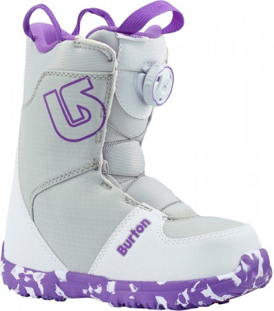 GROM BOA Boot 2019 white/purple