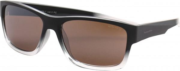 RIETI Sonnenbrille black/clear gradient