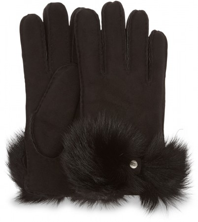 LONG PILE BOW Glove 2020 black