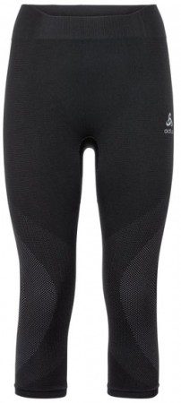BOTTOM PERFORMANCE WARM WOMEN 3/4 Hose 2019 black/odlo concrete grey