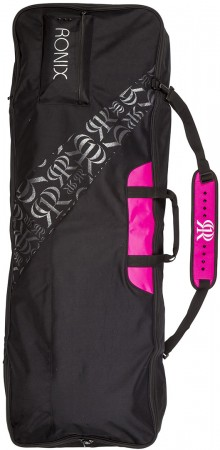 DAWN WOMENS HALF PADDED Boardbag 2020 black/pink
