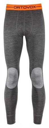 MERINO 185 ROCK N WOOL LONG Pants 2019 dark grey blend