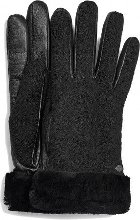 FABRIC LEATHER SHORTY Glove 2020 black