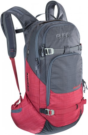 LINE R.A.S 20L Rucksack 2020 heather carbon grey/heather ruby