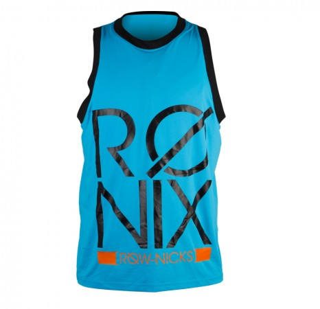 PHONETIC RIDING JERSEY Tank Top azure