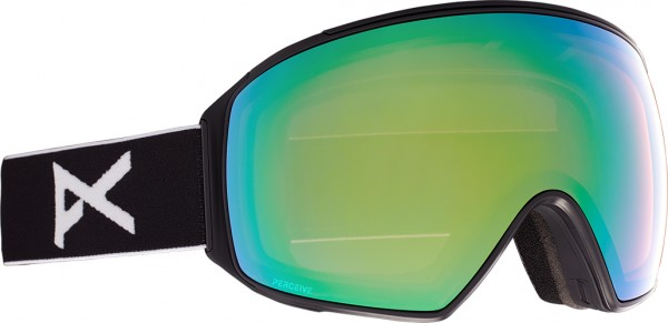 M4 TORIC Schneebrille 2022 black/perceive variable green