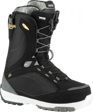 MONARCH TLS Boot 2021 black/white/ grey