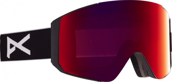 SYNC Schneebrille 2021 black/perceive sunny red