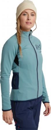 WOMEN AK BAKER POWER STRETCH FULL ZIP Fleece 2021 trellis