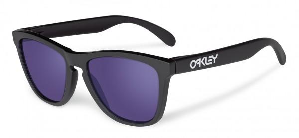 FROGSKINS Sonnenbrille matte black/violet iridium