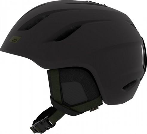 NINE Helmet 2019 matte black/olive