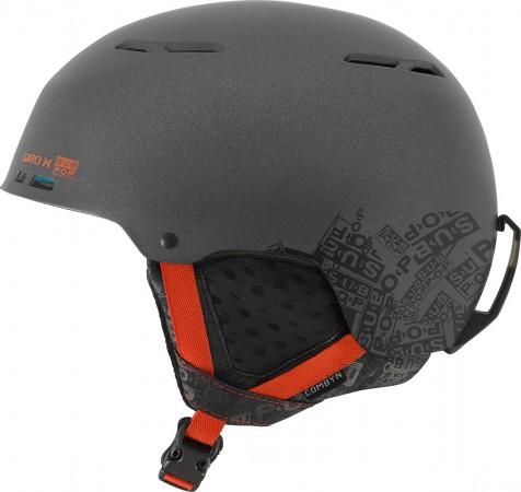 COMBYN Helmet 2018 matte dark grey sub pop